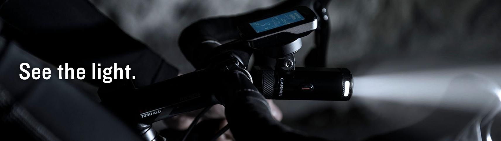 Garmin Varia UT800 Smart Headlight - Urban Edition (Bike Mount)