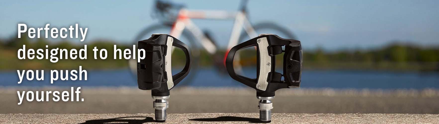 Garmin Rally RK100 Single-sensing Power Meter Pedals - LOOK KEO