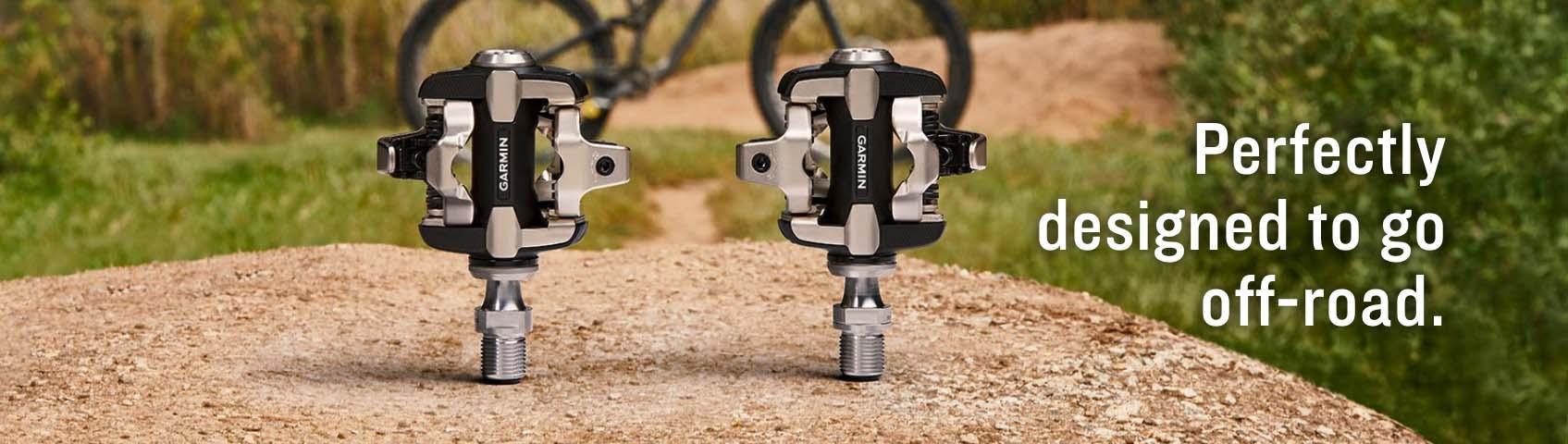 Garmin Rally XC200 Dual-sensing Power Meter Pedals - Shimano SPD