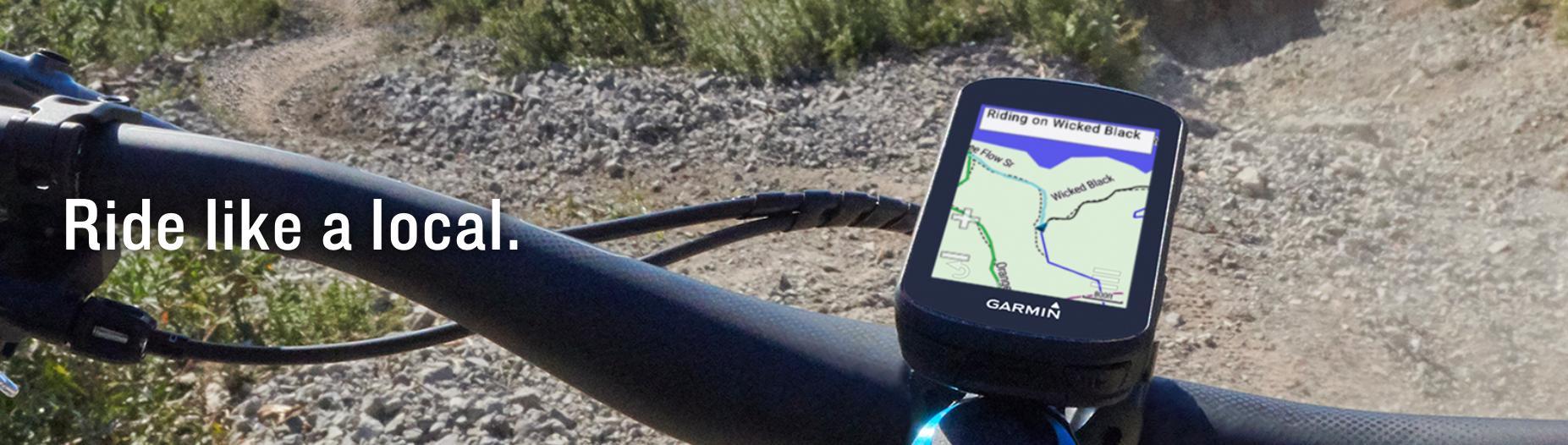 Garmin Edge 530 Cycling Computer - Mountain Bike Bundle