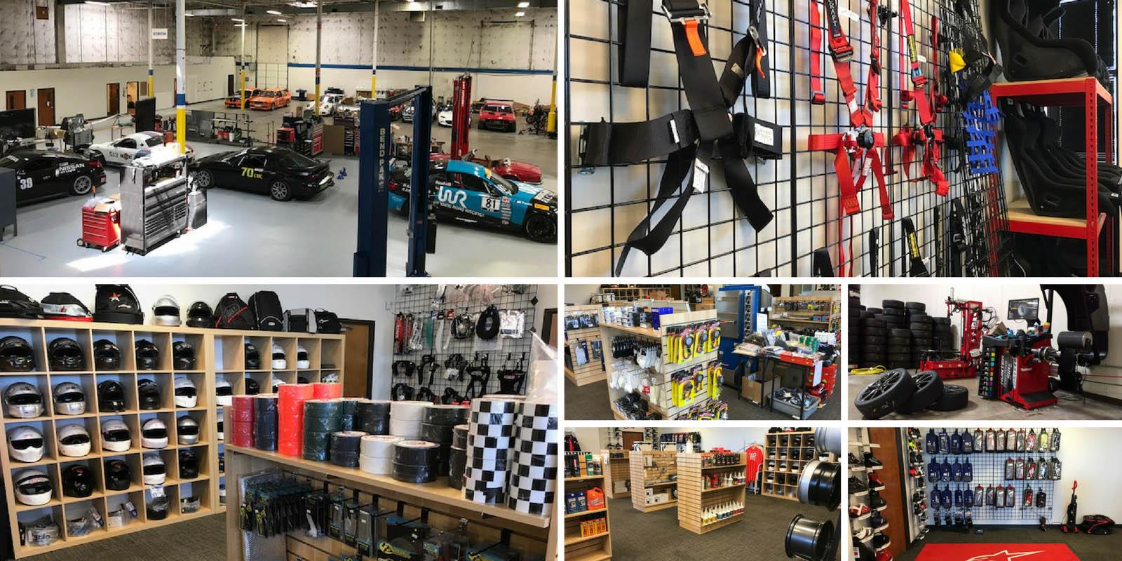 Winding Road Racing Austin, TX Retail Store