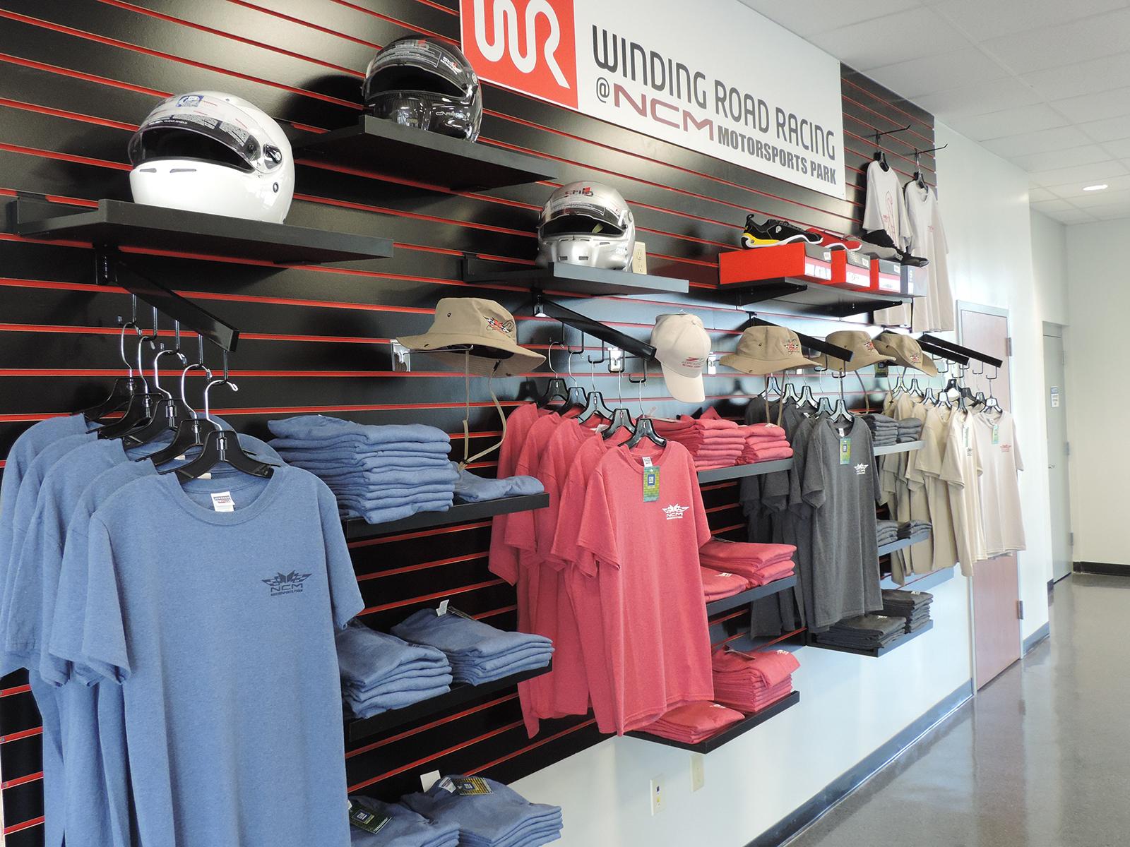 Winding Road Racing Store at NCM Motorsports Park
